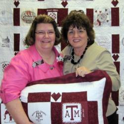 Photo of Mary Hodges and Pam Rosenbaum