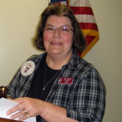 Photo of Mary Hodges at 2011 Spring Federation Meeting