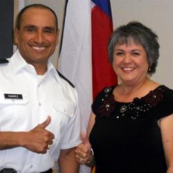 Photo of Gen Ramirez and Melinda Weiblen