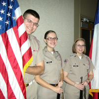Photo of Corps of Cadets Color Guard