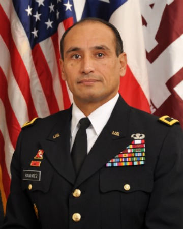 Official Photo of General Ramirez